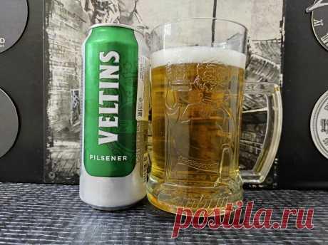 Это вам не дешёвое немецкое пиво из «К&Б»! Обзор «Veltins Pilsener»   Пиводром   Яндекс Дзен