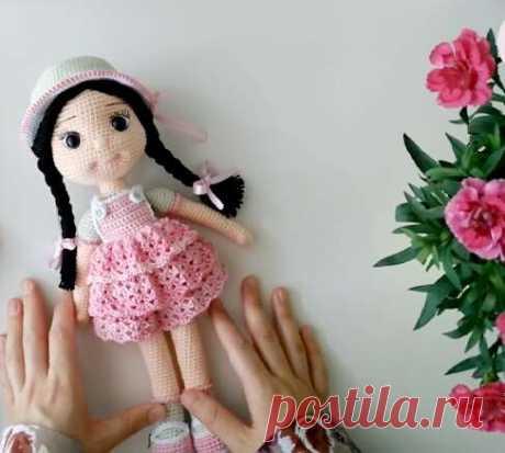 Восхитительные куколки-амигуруми: вяжем чудесные игрушки для девочек . Милая Я