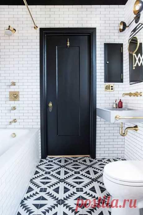 10 вдохновляющих идей для небольшой ванны   Мой дом