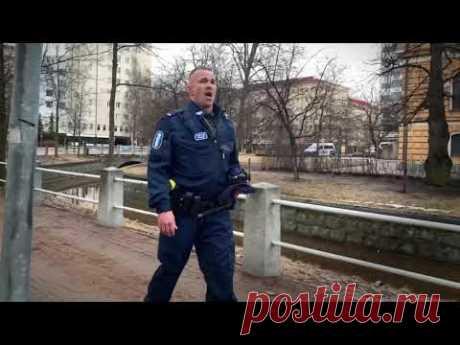 Финский полицейский ... про любовь и жизнь русскую песню потрясающе на финском! Всем Добра, Мира и Здоровья!