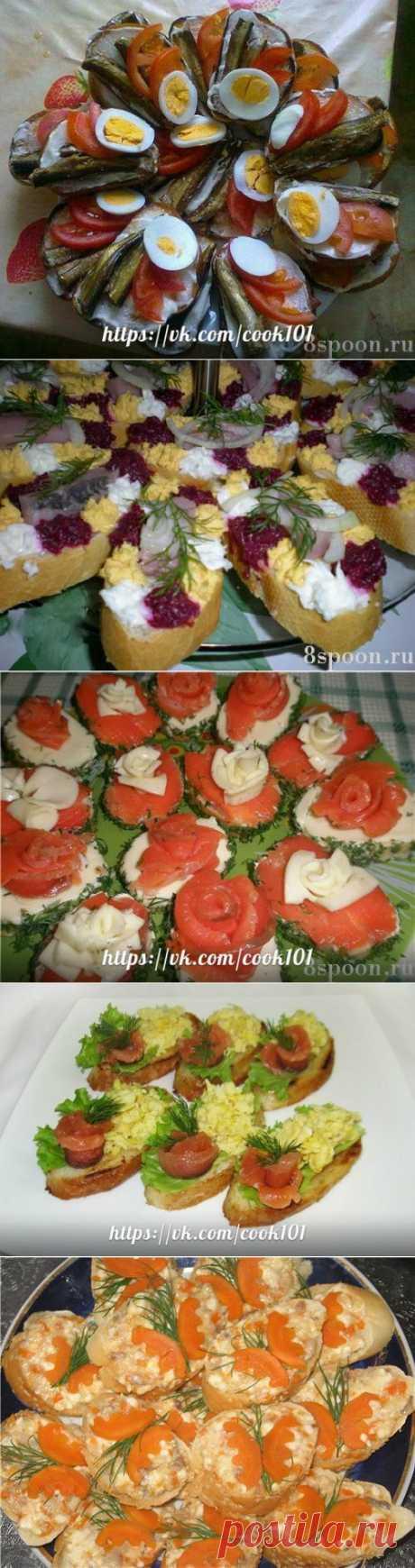бутерброды к празднику - Простые рецепты Овкусе.ру