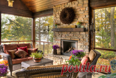 Сорок лучших идей для интерьера и дизайна дачного дома