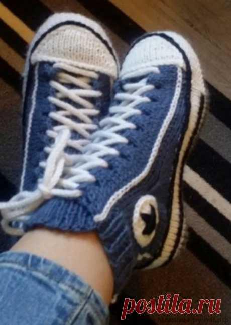 Tejemos las zapatillas-zapatos