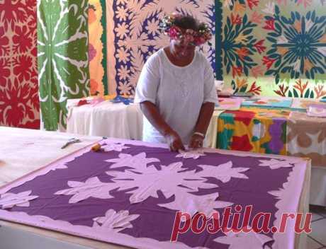 Quilting Patchwork Appliqué: Salon du tifaifai, l'exposition / Tifaifai show in pictures