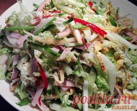 """Как приготовить японский салат """"Киото"""""""