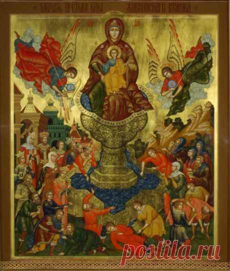 День иконы Божией Матери «Живоносный источник» 21апреля 2017 года