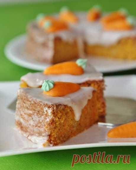 """Морковный торт """"Барышня-крестьянка"""""""