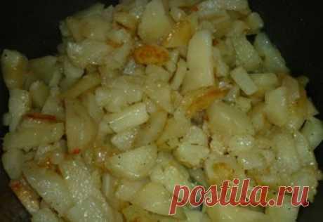 Как приготовить картошка жареная в мультиварке - рецепт, ингридиенты и фотографии
