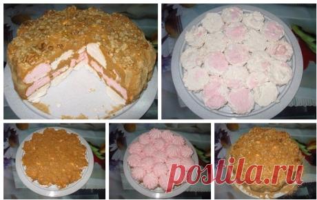 Зефирный торт (простой и без выпечки)