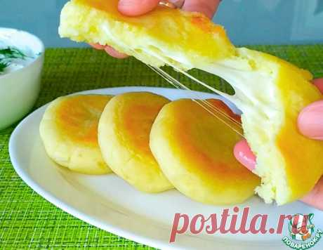 Картофельные зразы или пирожки с сыром – кулинарный рецепт