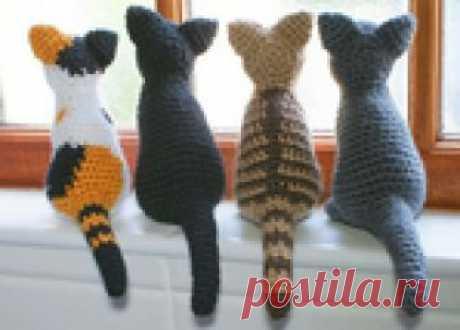 Los gatitos tejidos