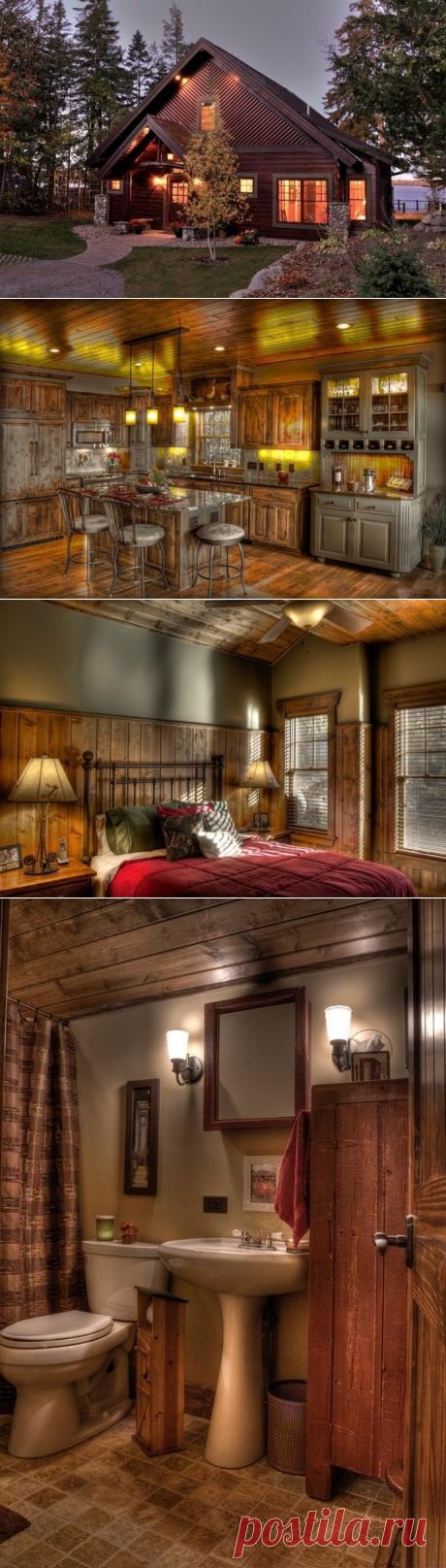 Деревенский дом - Дизайн интерьеров   Идеи вашего дома   Lodgers