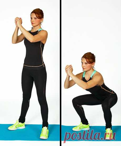 7 упражнений, которые преобразят ваше тело всего за 4 недели | Всегда в форме!