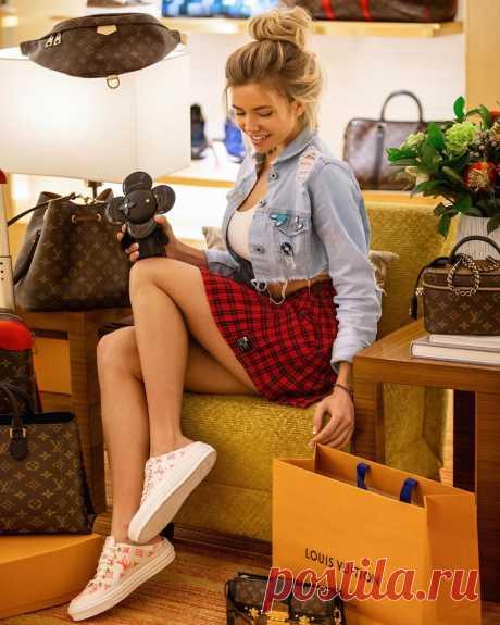 Наталья Красавина на фото в Instagram | VestiNewsRF.Ru