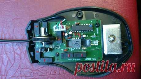 Ремонт компьютерной мышки RM-500 GAMING