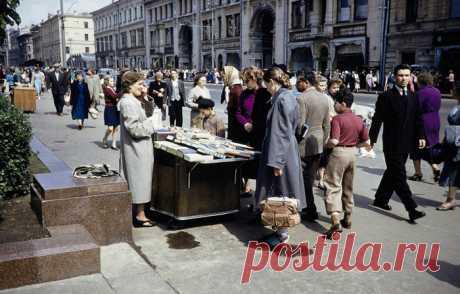 Москва 1959 года. Уличная торговля