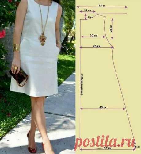 Из одной простой выкройки шьем 5 разных моделей летнего платья.