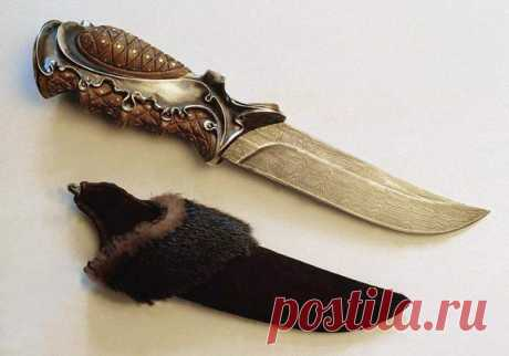 Que debe ser el cuchillo para el pescador y el cazador \/ la extracción Rica