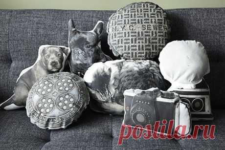 Интересные подушки / Подушки / Модный сайт о стильной переделке одежды и интерьера