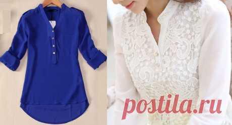 Блузка/размер 36-56 португальский (Шитье и крой) | Журнал Вдохновение Рукодельницы