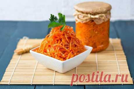 Острая морковь на зиму рецепт с фото - 1000.menu
