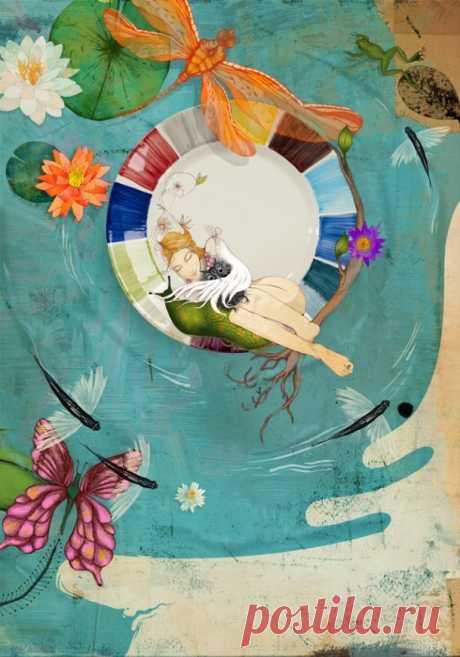 Эмоциональные фэшн-иллюстрации Линн Олофсдоттер (Linn Olofsdotter) | Cовременное искусство | contemporary art
