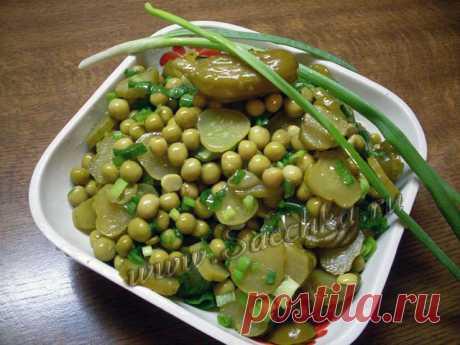 Салат к шашлыку   рецепты на Saechka.Ru