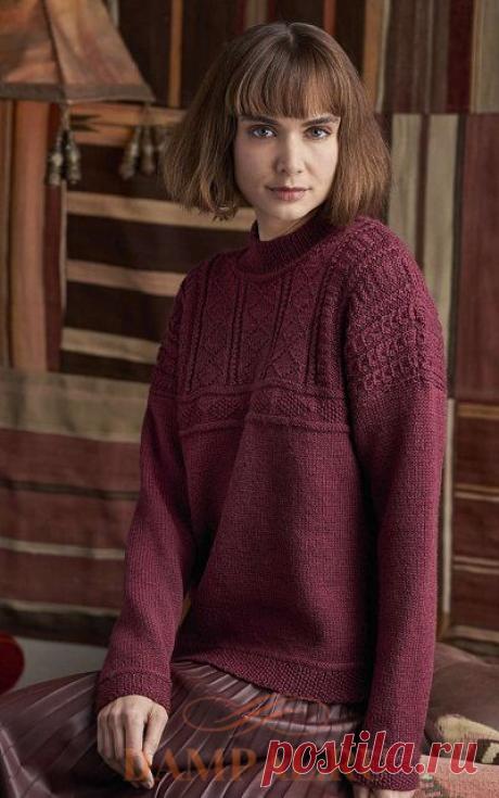 Вязаный пуловер «Lamorna»