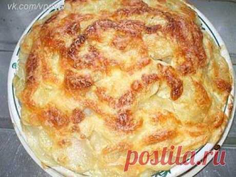 Рыба с картофелем запеченные под майонезом | Семья и дом