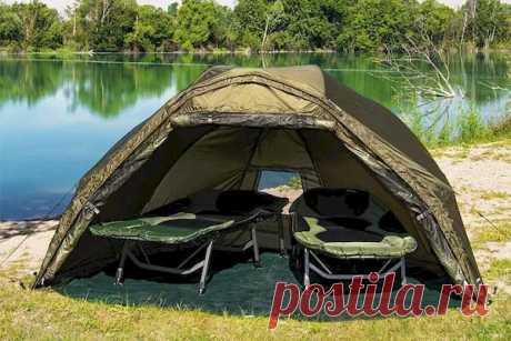 На что обратить внимание при выборе палатки для рыбалки?