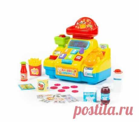 """Игрушка развивающая """"Кассовый аппарат для супермаркета"""" - купить в магазине развивающих игрушек Детский сад detsad-shop.ru"""