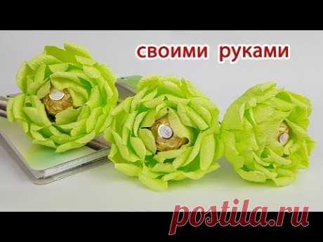 Букеты из конфет своими руками. Мастер классы для начинающих - Buket7.ru