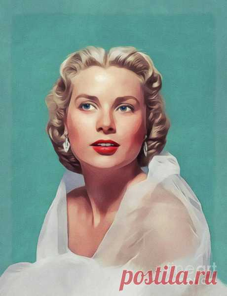 Grace Kelly, Vintage Actress by John Springfield | А L | Flickr