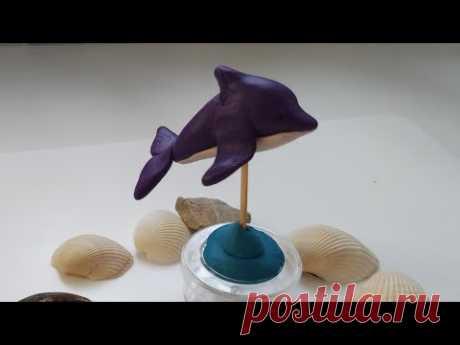 Лепим Дельфина из пластилина или полимерной глины.