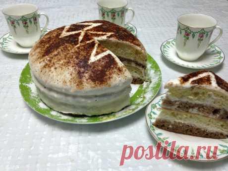 Сметанный торт - рецепт - как приготовить - ингредиенты, состав, время приготовления - Леди Mail.Ru