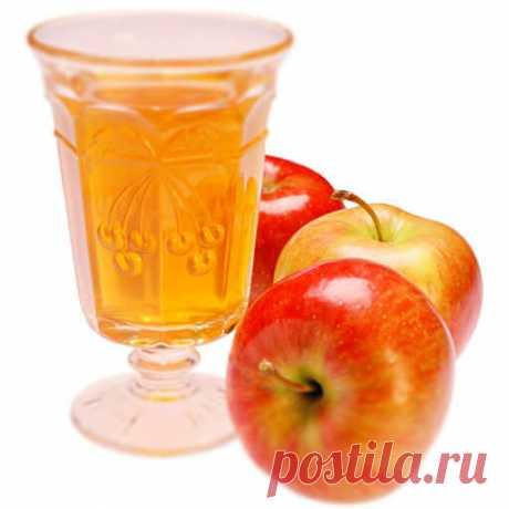 Лечебный яблочный квас