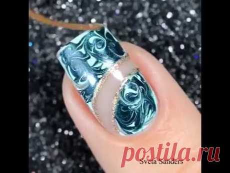 Video lesson of design of nails\/\\Video tutorial of the nail design