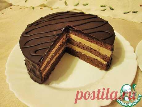 """La torta clásica \""""Praga\"""" - la receta de cocina"""