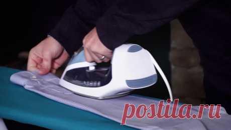 Как научиться гладить рубашки и брюки?