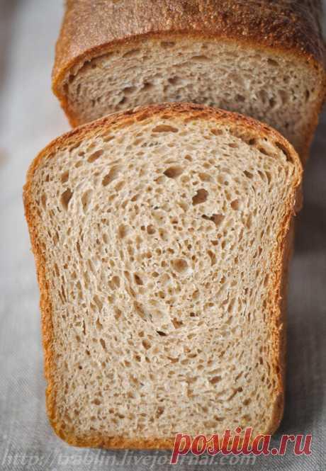 Пшенично-ржаной хлеб на закваске. Авторский рецепт. - Записки кулинарного озорника — LiveJournal