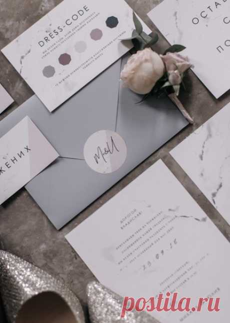 Элегантная свадьба в серебристо-лиловой палитре 💫