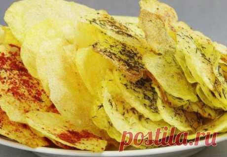 4 вкуса из одной картошки: готовим чипсы в микроволновке - Steak Lovers - медиаплатформа МирТесен