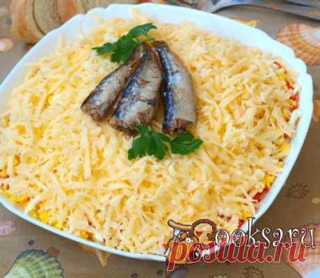 """La ensalada """"Океан"""" con los boquerones de la foto la receta de la preparación"""