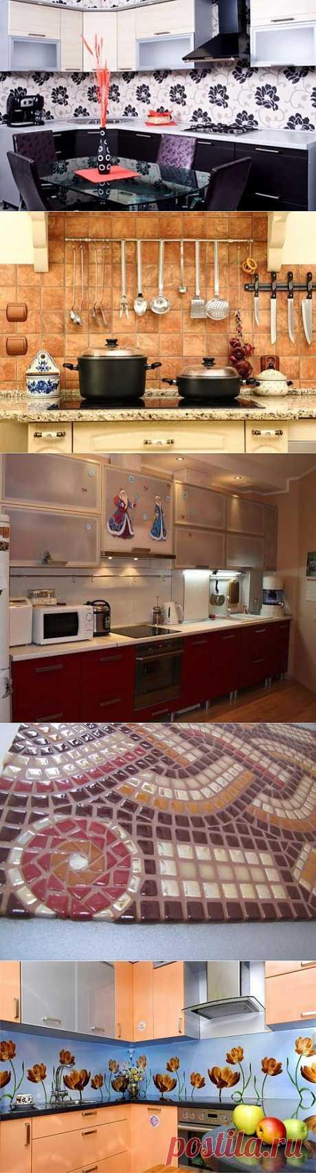 Фартук как элемент кухонного интерьера / Домоседы