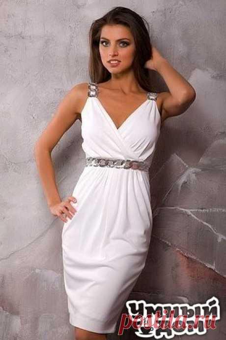 Платье в греческом стиле Платье в греческом стиле, хоть и не сложно в исполнении, но смотрится очень красиво и элегантно. Перед началом моделирования платья нужно сделать выкройку – основу платья по своим меркам. Это платье шьется из эластичного материала, поэтому застежку-молнию делать необязательно. Бретель платья выкраивается отдельно, шириной 8см (в готовом виде 4см) и длиной 16-18см (длину бретели необходимо отрегулировать непосредственно при примерке платья). Умный дом - здесь находят…