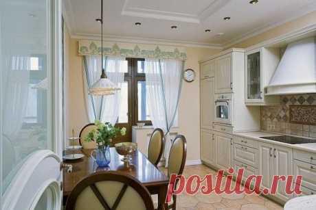 Занавески на кухню: римские шторы и другие, дизайн помещений с балконной дверью и без, видео и фото