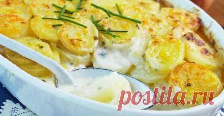Крестьянская картошка: 4 максимально простых в приготовлении рецепта - Дачный участок - медиаплатформа МирТесен