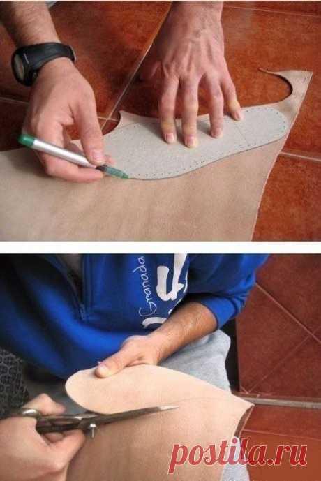 Учимся вязать обувь! Основные советы в фото