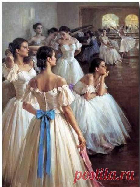 Znalezione obrazy dla zapytania mexican ballet oil painting