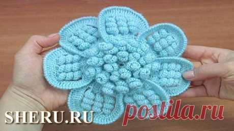 Интересный и красивый цветок со спиральками - Видео урок 175